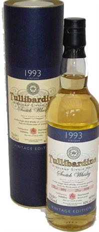 Tullibardine Scotch 1993